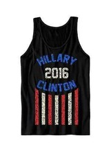 Hillary Clinton 2016 Tank Top Ladies Tops Unisex Tees Hillary For President  - $21.78+