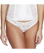 Dominique Lace Front Bikini Panty Style 549 - Ivory - Large - $18.81
