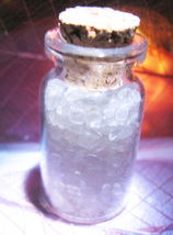 Haunted ALIGN YOUR OWN MAGICKALS SEALING QUARTZ CRYSTALS MAGICK VIAL Cassia4  - $25.00