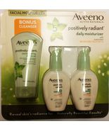 Aveeno Positively Radiant Skin Daily Scrub Moisturizer SPF 15 Facial Sunscreen - $39.59