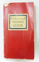 Bartender recipe booklet 1947 professional mixing guide barware mancave ... - $12.86