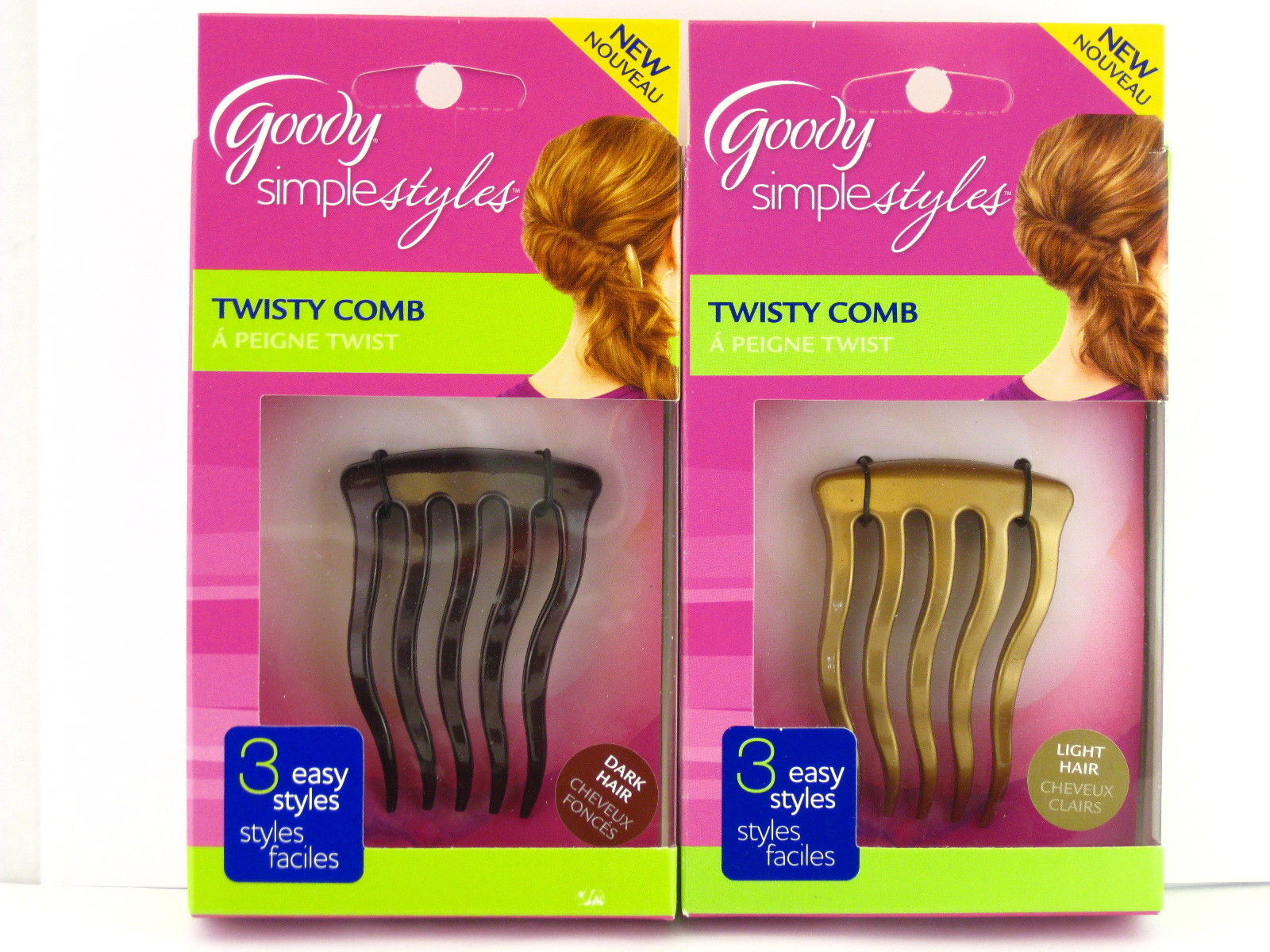 Goody Simple Styles Twisty Comb 04121 6 99