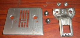 Brother VX-1435 Needle Plate #XA3954051 & Feed Dog #XA4430051 w/Screws  - $12.50