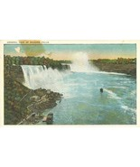 General view of Niagara Falls, from Canadian Side, early 1900s unused Po... - $3.99
