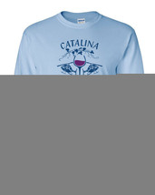 186 Catalina Wine Mixer Long Sleeve Shirt funny helicopter party brother... - $18.00+