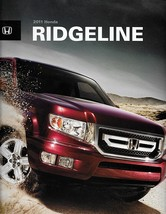 2011 Honda RIDGELINE sales brochure catalog 11 US RT RTS RTL - $8.00