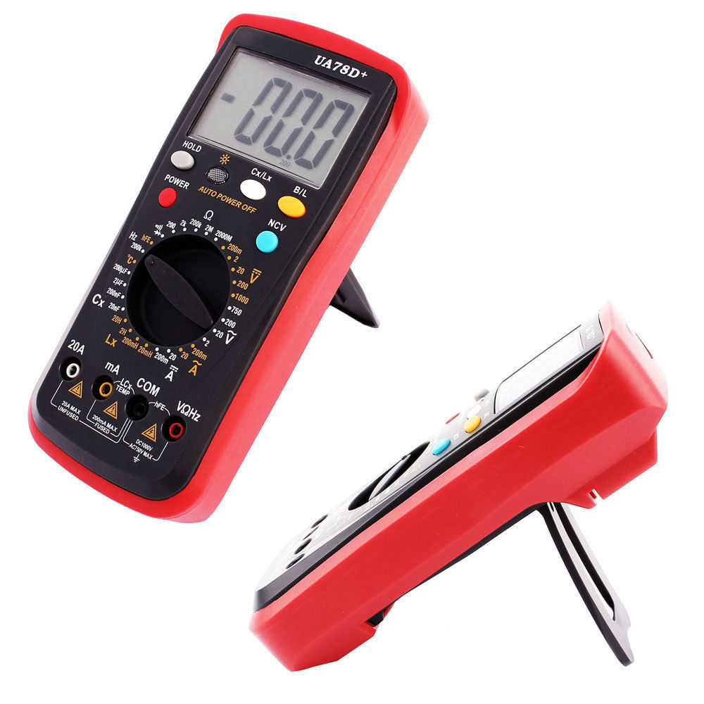 Ac Dc Tester Meter Inductance Capacitance And 27 Similar Items Digital Lcd Multimeter Voltmeter Ammeter Ohm Circuit Checker Volt