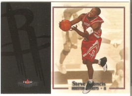 Steve Francis Fleer Patchwork 03-04 #24 Houston Rockets Orlando Magic Ne... - $0.20