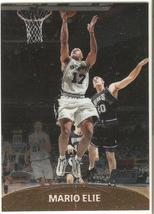 Mario Elie Topps Stadium Club Chrome 99-00 #113 San Antonio Spurs Houston Rocket - $0.20