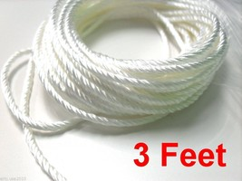 3 FEET - 100% Silica Rebuildable Atomizer 3mm Wick RDA Rope - $4.75