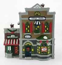 "Original Snow Village ""Village Realty"" Lighted Department 56 Retired 5154-3 - $46.73"