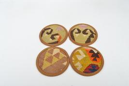 home decor Coaster set , Decorative  Natural Coasters, Wedding Gift,coas... - $14.90