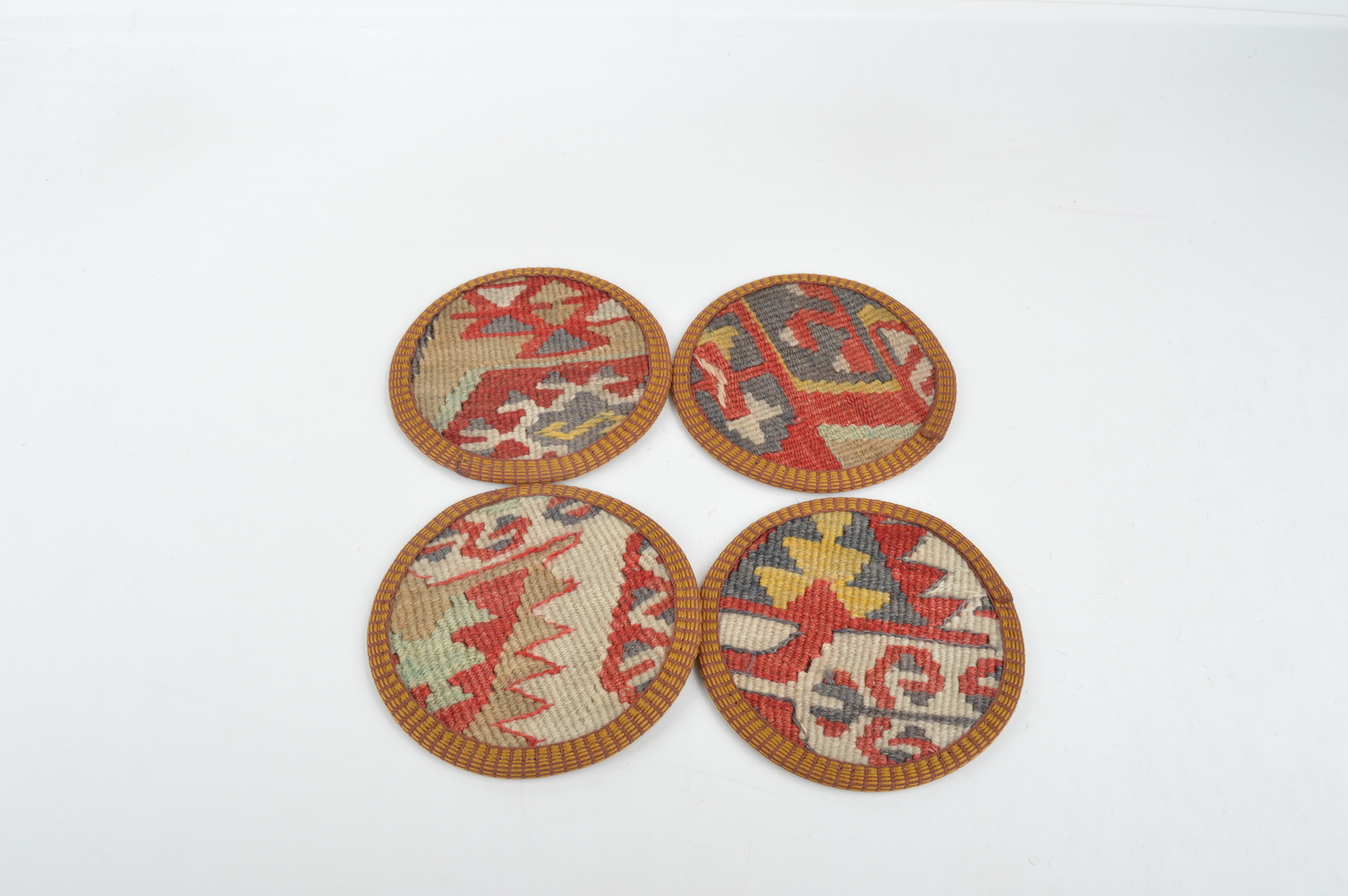 decor Coaster set , Decorative  Natural Coasters, Wedding Gift,carpet coaster