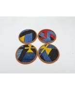 gifts,kilim coasters, coasters set, handmade coasters, rug coasters, gift - $19.00
