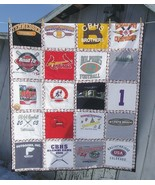 Handmade Twin Size T-shirt Quilt by Custom Order 24 Shirts - $282.14