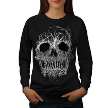 Tree Skull Horror Jumper Burial Land Women Sweatshirt - $18.99