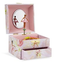 JewelKeeper Musical Jewelry Box, Pink Rose Ballerina Design with Pullout... - €14,80 EUR