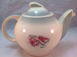 Susie Cooper Teapot, Floral and Green, Vintage Rare, Crown Works Burslem... - $99.99