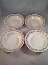 Homer Laughlin, Three Daisies, 1950's, Round Soup Bowl (FOUR) - $17.99