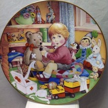 1984 Carol Lawson LITTLE DOCTOR Plate Franklin Mint FIRST FIRING - $8.99
