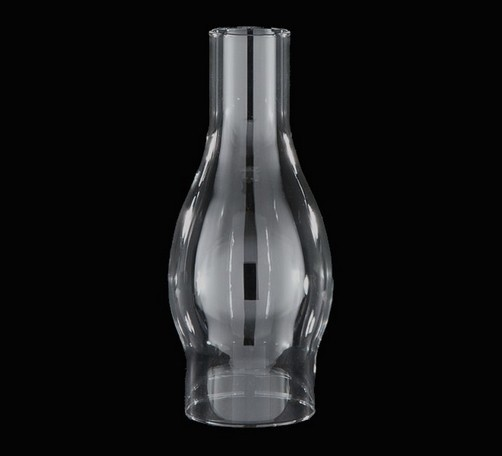 33587a clear glass lamp chimney