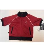 Boys Infants Short Sleeve Sport Jacket Red Black NWT 18 months Jumpman - $9.99