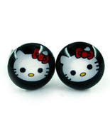 Hello Kitty NEW Stainless Steel Post Pierced Earrings Pair - $8.90