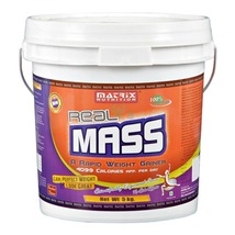 Matrix Nutrition Real Mass, Chocolate 11 lb - $129.00