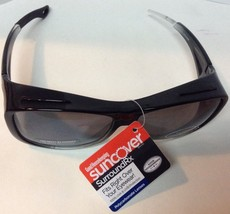 Fits Over Shield Sunglasses NWT Black Shatter Resistant   - $11.87