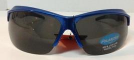 Polarized Sunglasses Neon Blue 100% UVA UVB NWT  - $10.99