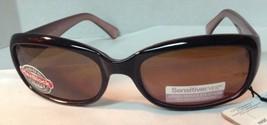 Sunglasses FG NWT Sensitive Eyes 100% UVA UVB Protection Brown - $9.99