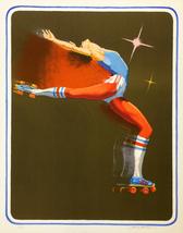 "Jim Jonson ""Roller Disco Queen"" - S/N Lithograp... - $200.00"