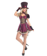 Be Wicked Steampunk Mad Hatter Wonderland Hallo... - $68.00 - $103.00