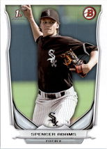 2014 Bowman Draft Baseball #DP42 Spencer Adams Chicago White Sox - $1.39