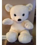 "Vintage DAKIN Jumbo 36"" 1980 White Cuddles Teddy Bear Plush Lovey Rare - $94.04"