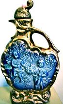 Vintage 1974 Jim Beam Regal China Blue And Gold Bottle - $15.00