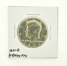 1971-D Kennedy Half Dollar (VF) Very Fine N2-3450-4 - $0.99