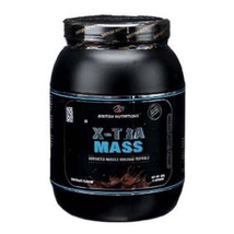 British Nutritions X-Tra Mass, Chocolate 1.1 lb - $49.95