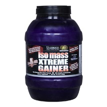 Ultimate Nutrition Iso Mass Xtreme Gainer, Chocolate Milkshake 10.11 lb - $299.00