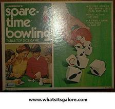 Lakeside SPARE-TIME BOWLING family parlor game - $8.00