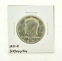 1971-D Kennedy Half Dollar (VF) Very Fine N2-3450-6 - $0.99