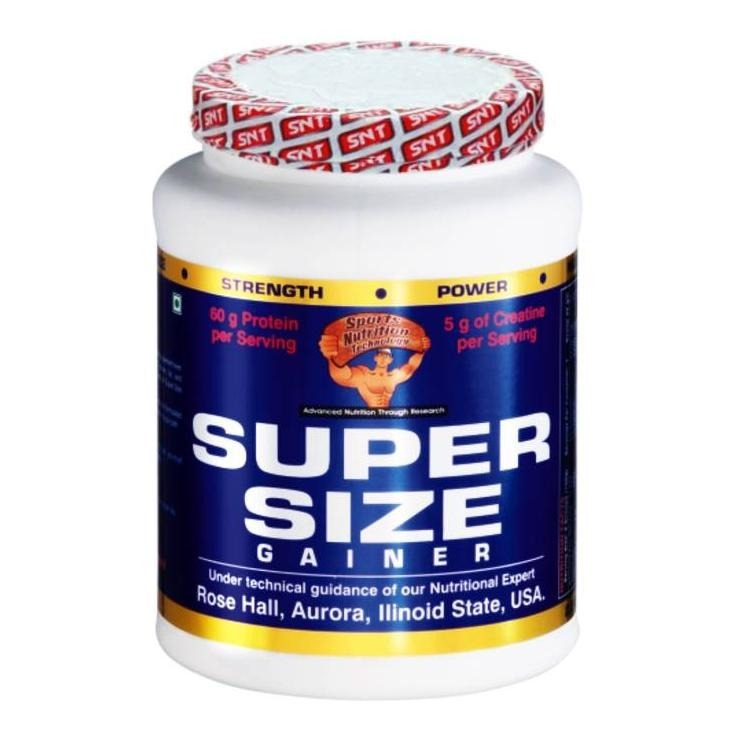 Primary image for SNT Super Size Gainer, Chocolate 1.1 lb