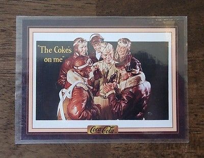 Primary image for VINTAGE 1994 THE COCA-COLA COLLECTION CARD SERIES 3 #273 MT-VTG-OLD-SODA-MILTARY