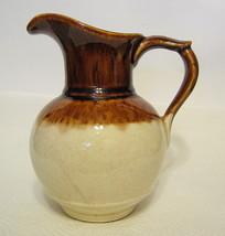 Small Drip Glazed Ceramic Pitcher USA - $49.49