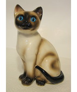 Enesco Brown Siamese Cat Figurine - $40.09