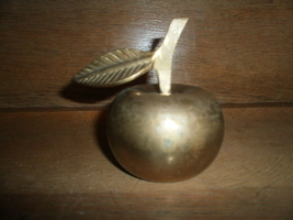 Brass Apple Bell - $5.00