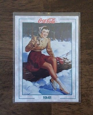 Primary image for VINTAGE 1994 THE COCA-COLA COLLECTION CARD SERIES 2 #184 1941 (MT) VTG-OLD-SODA
