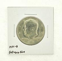 1971-D Kennedy Half Dollar (VF) Very Fine N2-3450-14 - $0.99