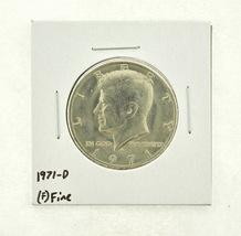 1971-D Kennedy Half Dollar (F) Fine N2-3467-1 - $0.99