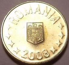 Gem Unc Romania 2008 1 Bani~We Have Romanian Coins In Our Stock~Free Shi... - $1.95